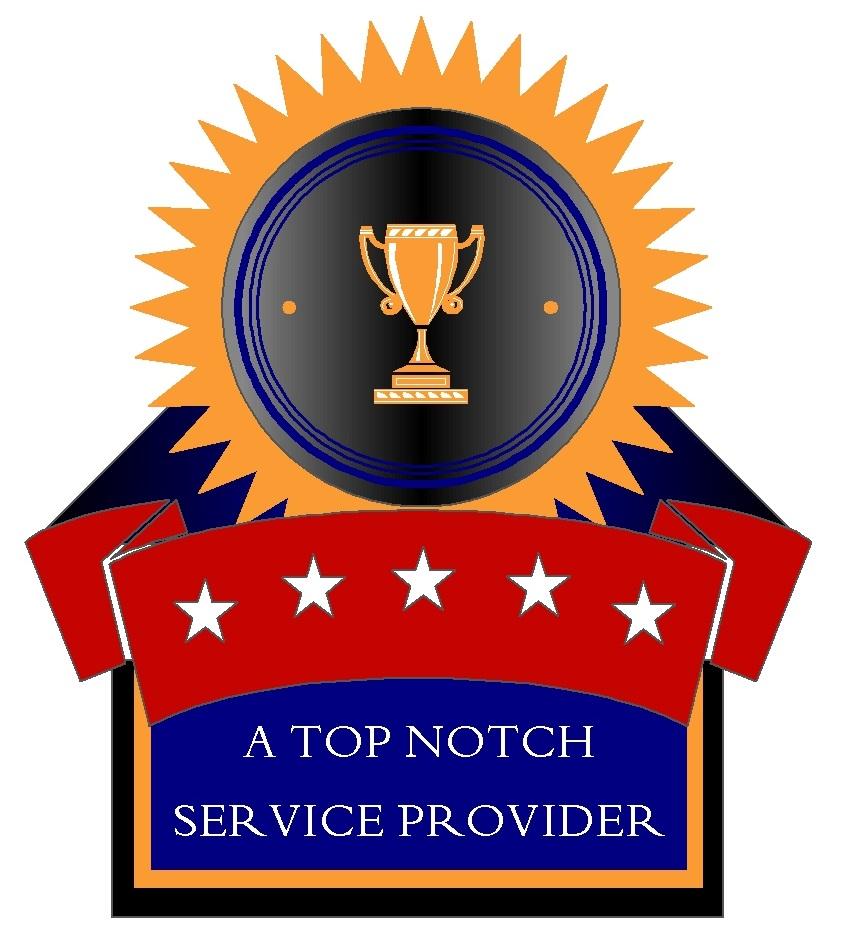 TOP NOTCH WEB BADGE- LARGE